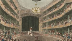 Astley's Amphitheatre in London circa 1808.