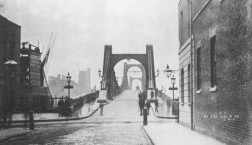 Lambeth Bridge from Millbank, 1896