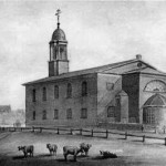 St Anne's Church, South Lambeth, c 1825, by G. Yates
