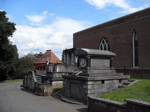 Spurgeon's tomb at West Norwood Cemetery