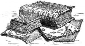 drawing of domesday book