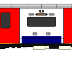 victoria line: A diagram of the driving car of the 2009 tube stock.
