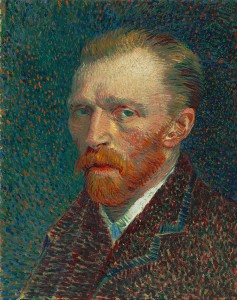 Vincent Van Gogh: Self-Portrait, Spring 1887, Oil on pasteboard