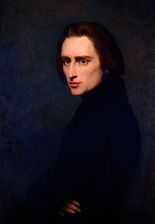 "Rosemary Brown claimed that Franz Listz dictated music to her. ""Ary Scheffer - Franz Liszt"" by Ary Scheffer - Original publication: 1837Immediate source: goodreads.com goodreads.com(Life time: 1811-1886). Licensed under Public Domain via Wikimedia Commons."