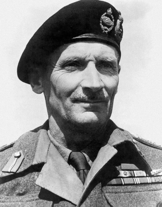 Bernard Law Montgomery (1887-1976), 1st Viscount Montgomery of Alamein