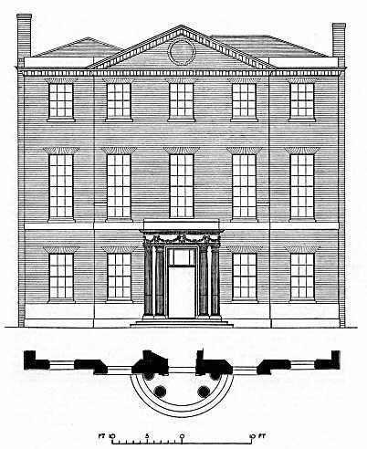 Brunswick House elevation