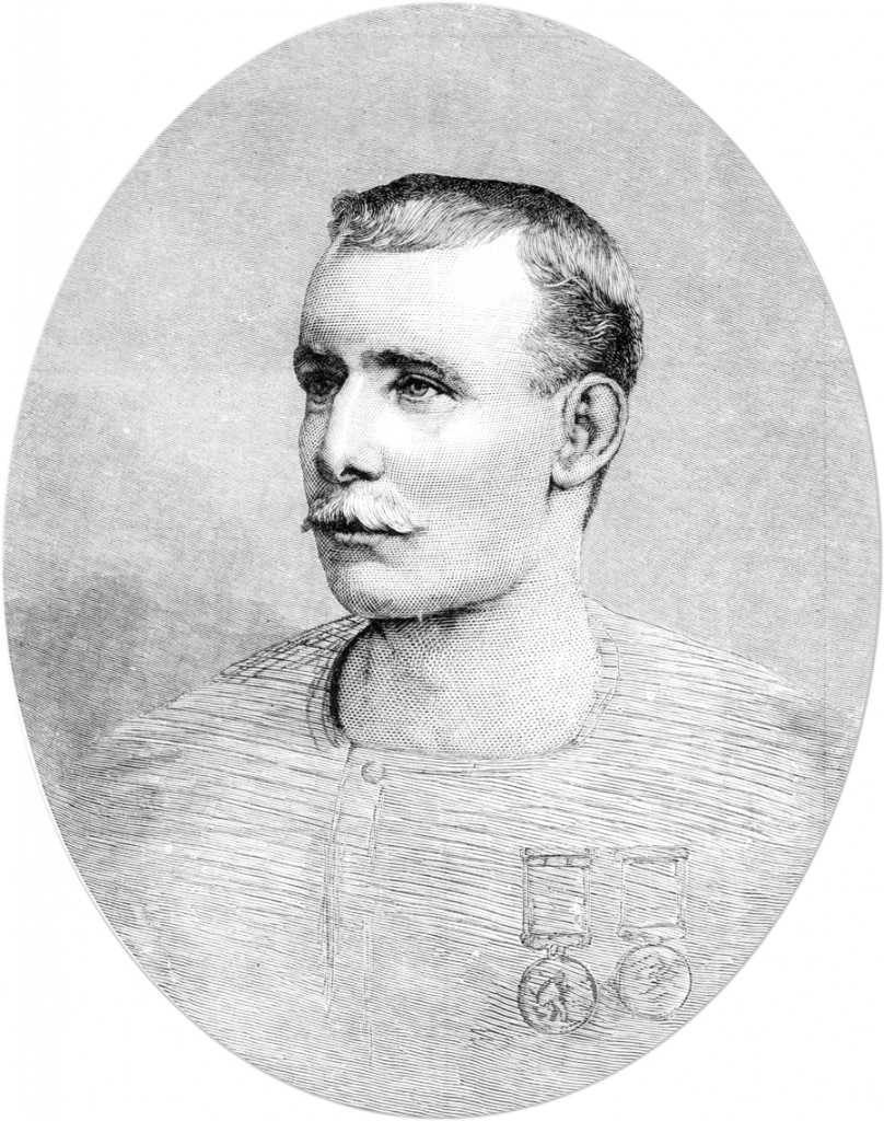Captain Matthew Webb, 1883