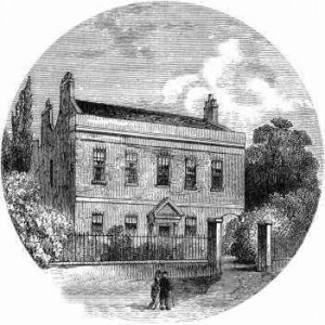 drawing of Carlisle House