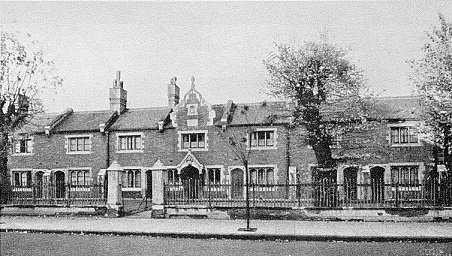 Caron Almshouses, 1854, photo
