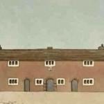 Caron Almshouses, c1810, painting