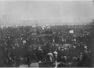 The Chartist Meeting at Kennington 10 April 1848