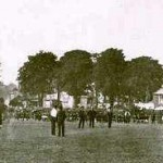 Cricket at the oval 1913