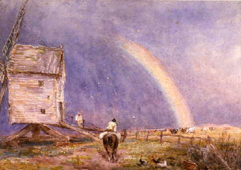 The Mill by David Cox