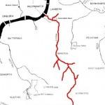 Effra map