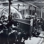photo of gas engines at lambeth