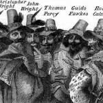 Guy Fawkes and fellow conspirators of the Gunpowder Plot of 1604