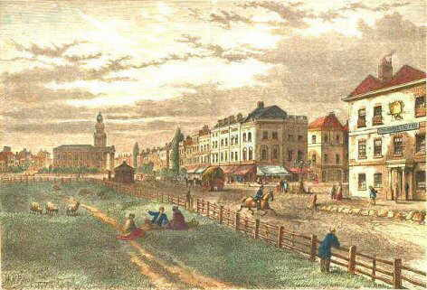 Kennington Common and Church