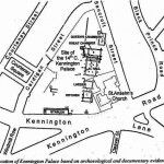 Site of Kennington Palace, london