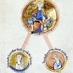 Cnut, king of England, Denmark, and Norway, and his sons Harald Harefoot and Harthacnut