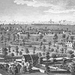 Lambeth Marsh, London in 1670