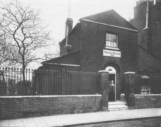 Lambeth Parish watch house