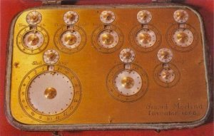 The Morland adding machine