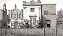 Mr Armitage's House, Hercules Road, 1828