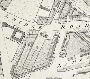 Map showing Mead Place
