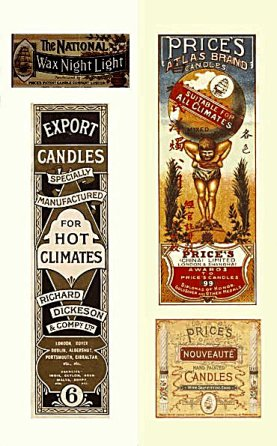 Prices Candles packaging