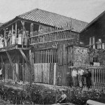 Rear of Upper-Fore-Street, c1866 phohtograph