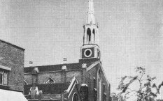 St Mary the Less, lambeth, 1950