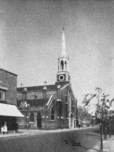 St Mary the Less, lambeth, 1950