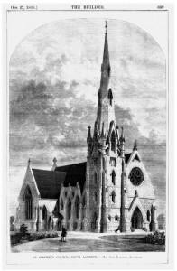 st stephens church london sw8 in 1960