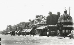 Stockwell Station, c 1918