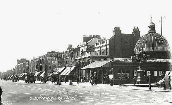 Stockwell Station, c 1918