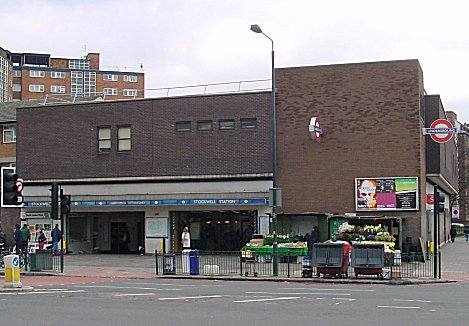 Stockwell tube station
