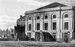 Surrey Theatre, south London