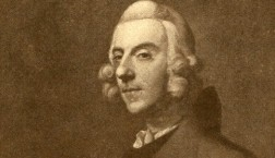 lithograph of thomas arne, composer