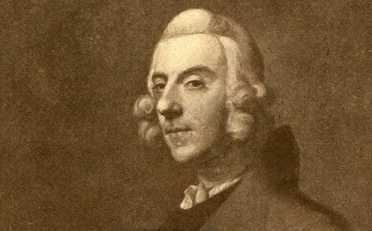 lithograph of thomas arne, composer