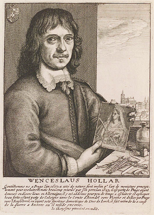 "Wenceslaus Hollar ""Wenzel Hollar nach Jan Meyssens"" by Joannes Meyssens - Übernahme aus de-WP mit gleichem Dateinamen durch Godewind 16:09, 26 October 2005 (UTC). Licensed under Public Domain via Wikimedia Commons."