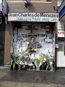 shrine to jean charles de menezes