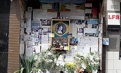 shrine to jean charles de menezes