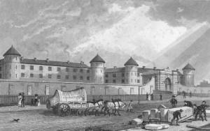 Millbank Penitentiary, 1829