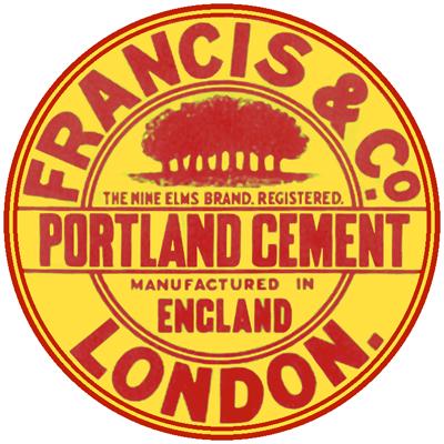 Cement works at Nine Elms
