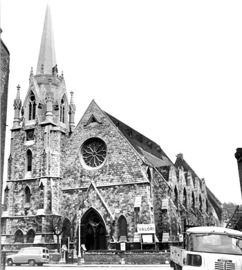 st stephens church london sw8 in 1967