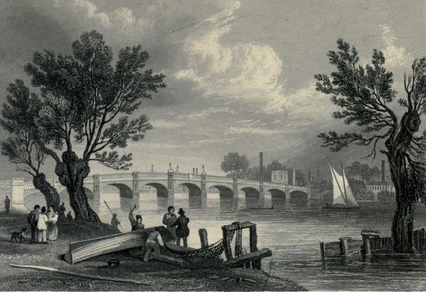 Vauxhall Bridge. 19th century