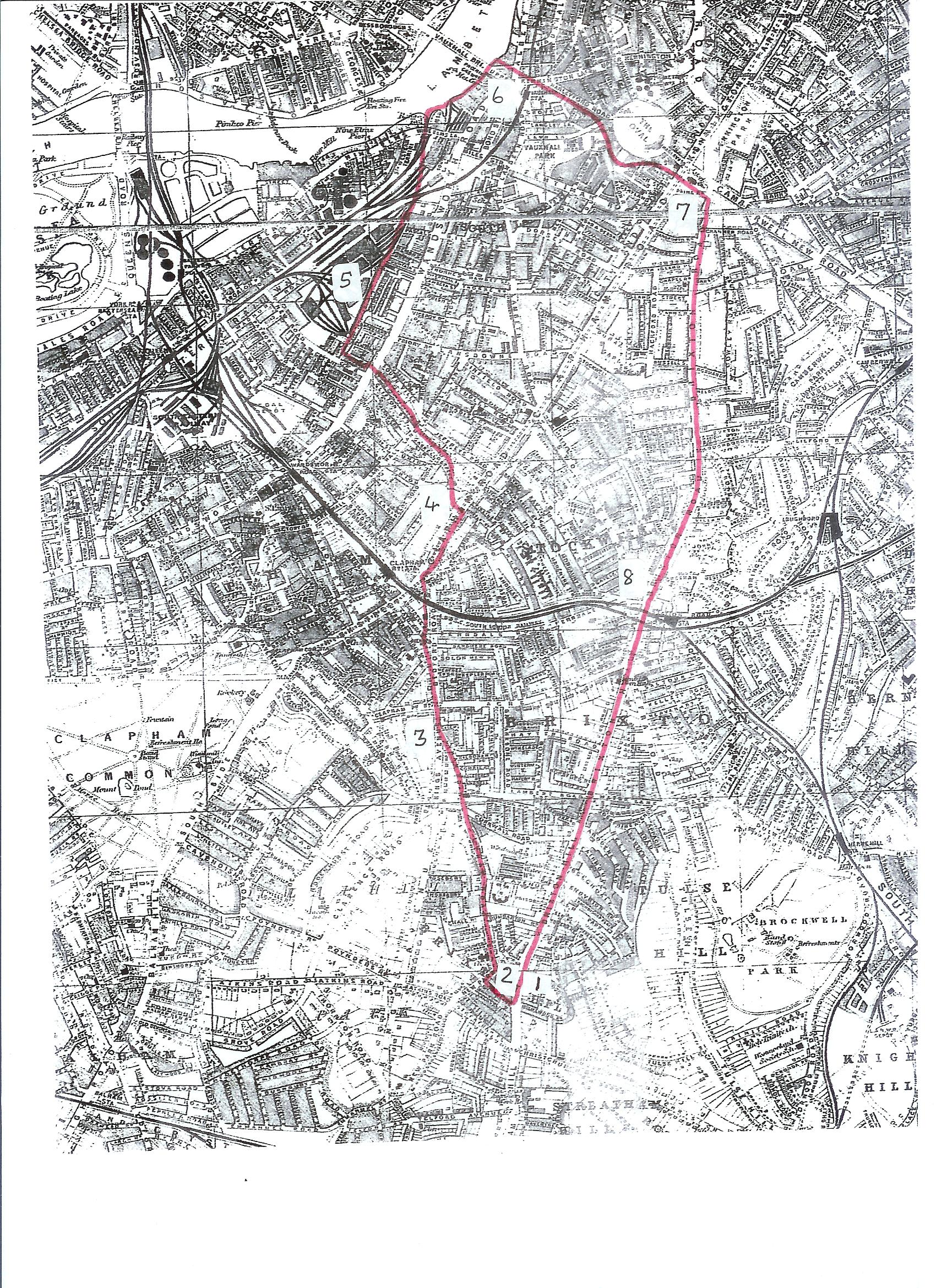 The Boundaries of Anglo-Saxon Vauxhall and Stockwell