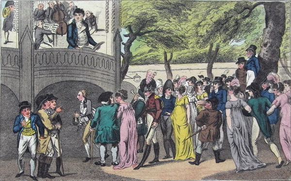 pickpocketing at vauxhall gardens