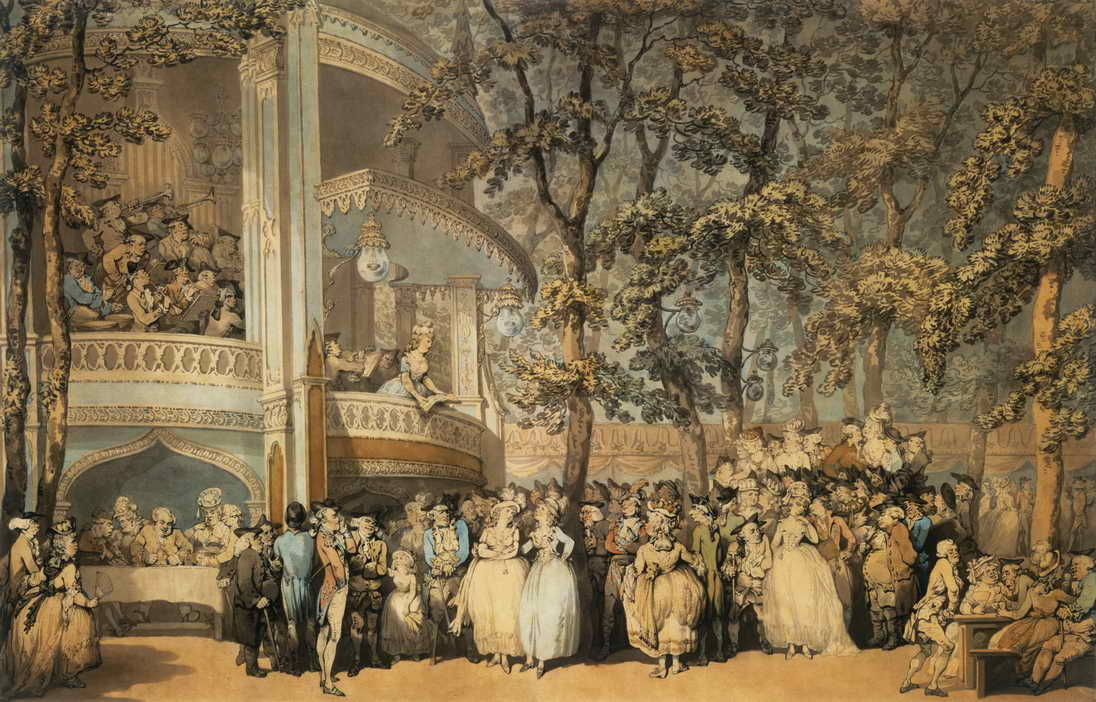 How Vauxhall Gardens saved English music, 1661-1859