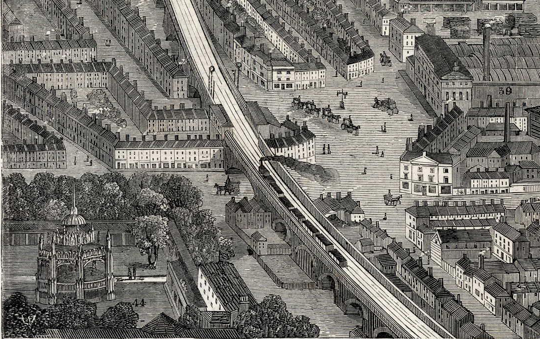 Vauxhall's other pleasure gardens and a 'Vauxhall Cross Plan' of yesterday